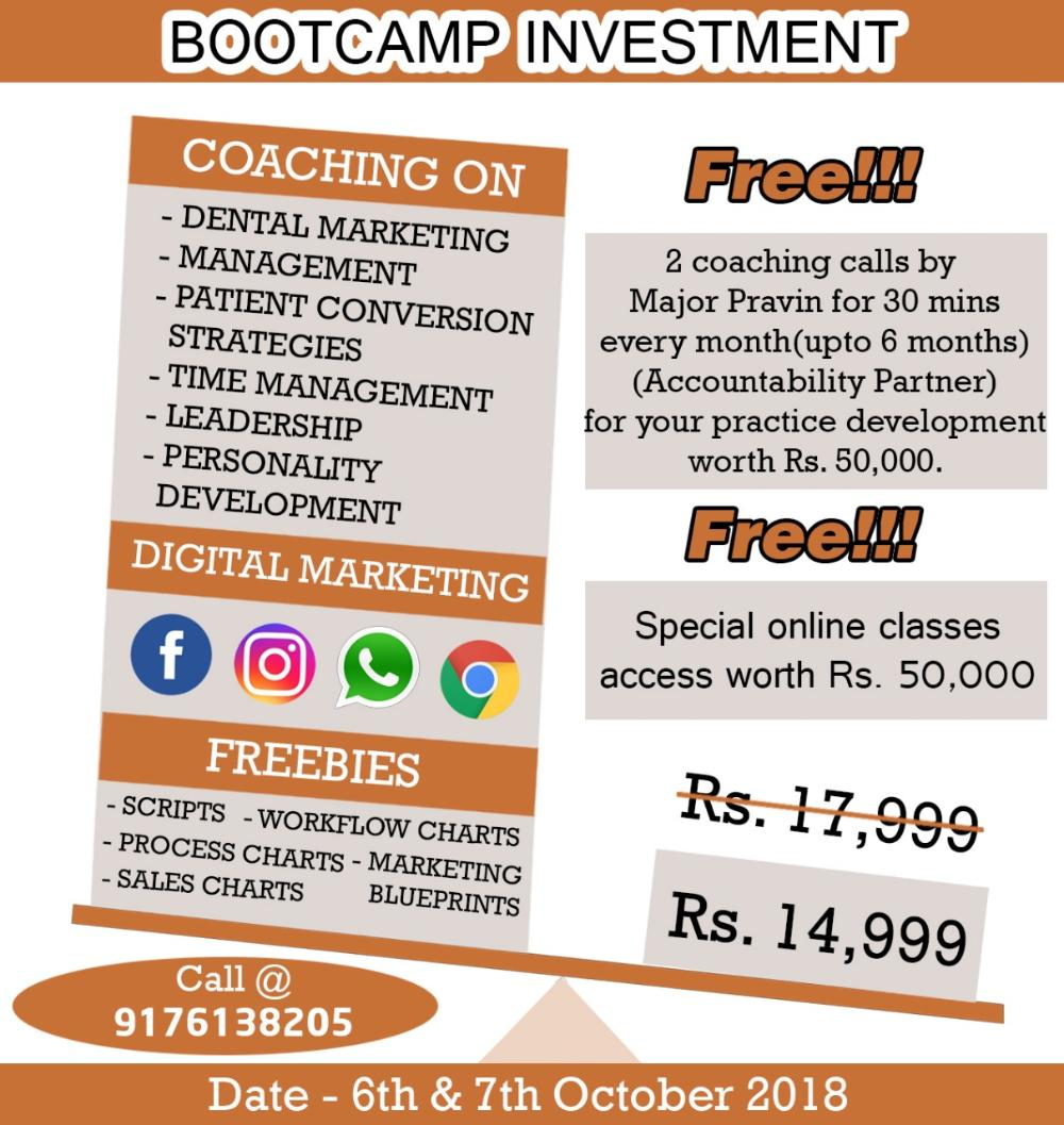 dental practice management bootcamp
